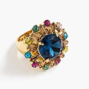 J. Crew Multi Colored Cocktail Ring